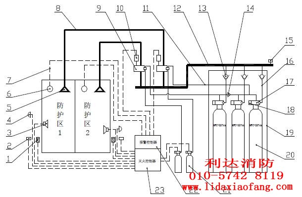 信号控制器电路图